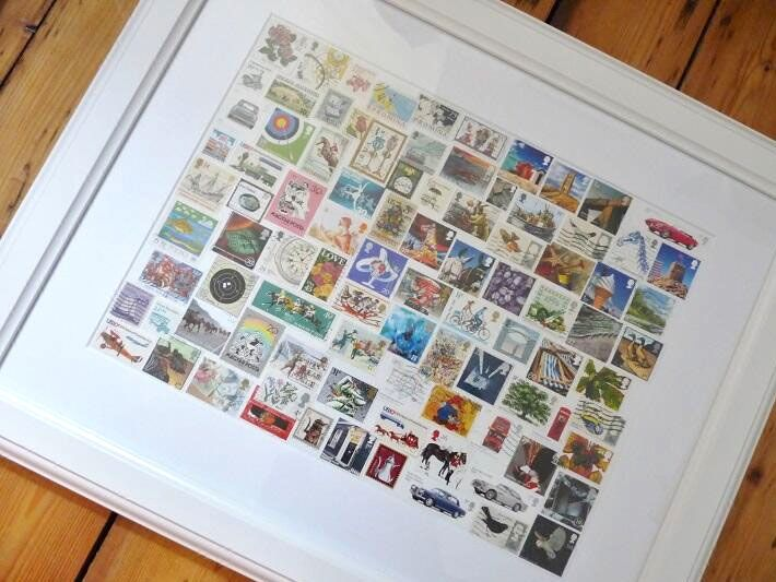 need to do something with all my old stamps!