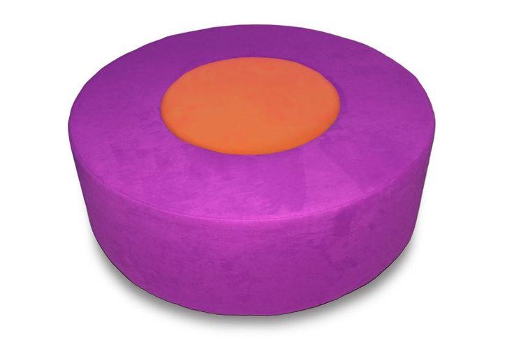 Donuty : Donut purpurová/oranžová