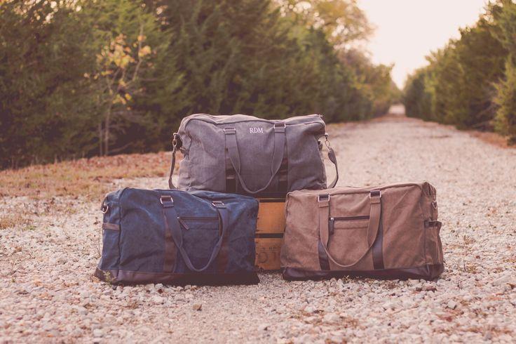 Men's Monogrammed Travel Set | Groomsmen Gift | Monogrammed Dopp Kit | Monogrammed Duffle | Overnight Case | Gift for Him | Beau Set by SouthernTradeMark on Etsy https://www.etsy.com/listing/490228039/mens-monogrammed-travel-set-groomsmen