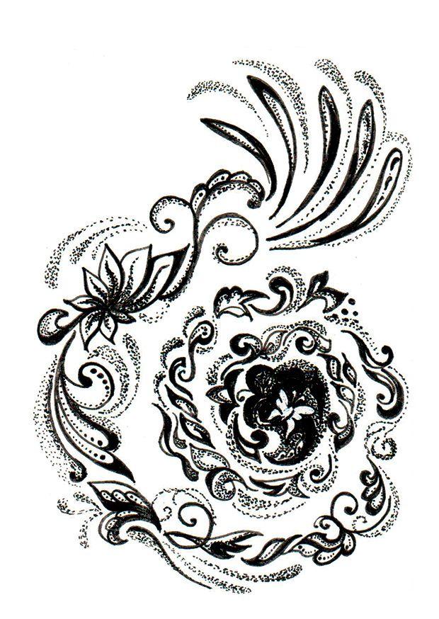 Drawing by Yulia Noritsina