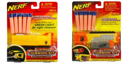 Nerf N-Strike Mission Kits nerf scope tactical light