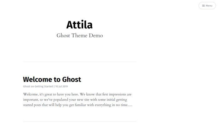 Ghost Template Examples And Themes You Should Check Out Ghost