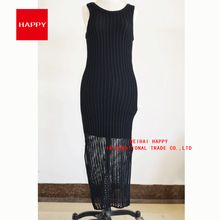 Fashion Sleeveless Special Kitting Pattern Women Long Sweater Dress New 2016  Best Seller follow this link http://shopingayo.space