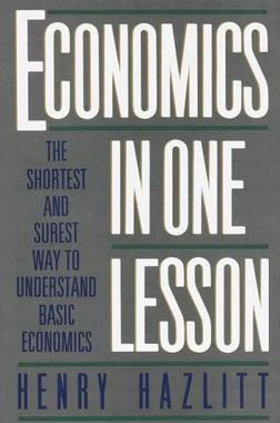 Five books your high school graduate should read includes Economics in One Lesson. It is a powerful thing to enter the adult world having a basic understanding of economics, because no statist politician or college professor can put one over on you. This short book gives you that gift in easy to understand story form and arms the youngster in your life intellectually against much of the flawed thinking in our confused and complicated world.