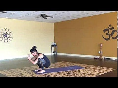 20 min. Creative Cardio Vinyasa Yoga Flow for Core, Hips and Butt - very good!!