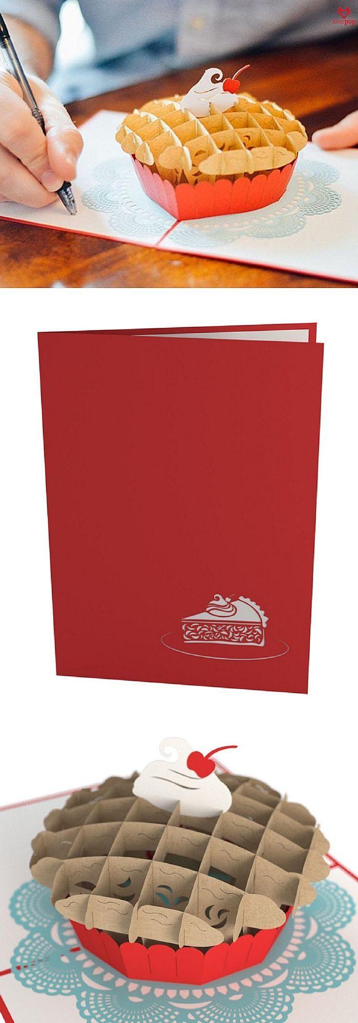 Scrapbook ideas pop up - Cherry Pie