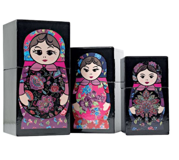 Russian Doll Storage Boxes