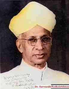 "Short essay on the first vice president of India, ""Sarvepalli Radhakrishnan"" for children and students. Short and Long paragraph"