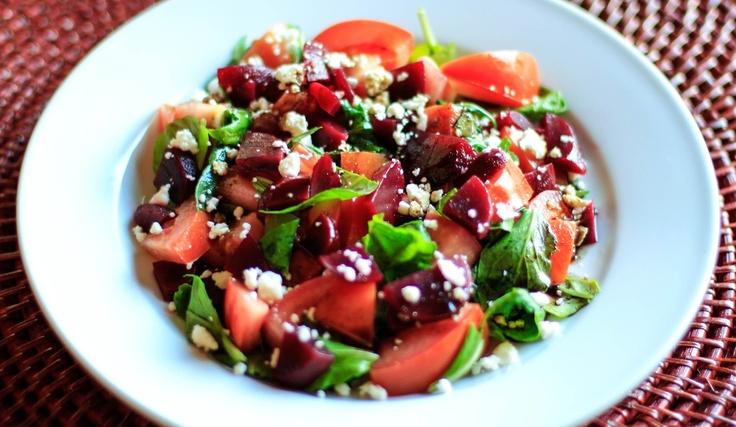 Tomato & Pickled Beet Salad | Salad-y Goodness | Pinterest