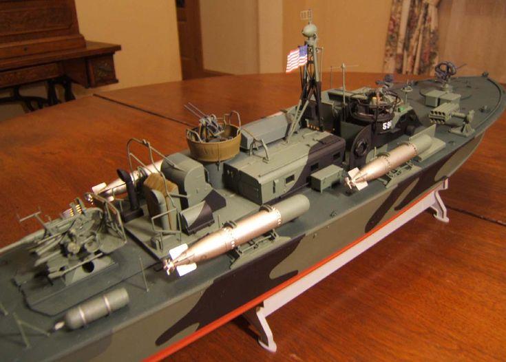 1 48 80 Elco Pt Boat Merit Model Ship Gallery