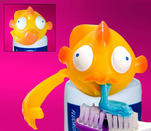 If Toothpaste Oscar didn't do it for you, maybe Toothpaste Bubbles will.