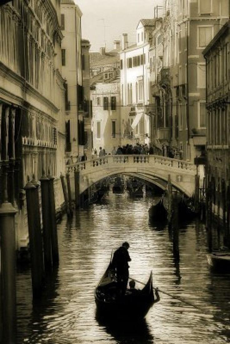 Venice - Cityscape in monochrome
