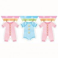 Baby Clothes Flag Banner, $7.95, 20297514