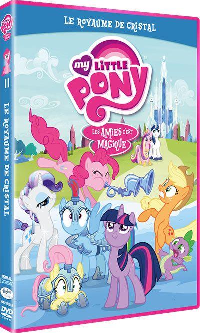 """Nouveau concours """"My Little pony"""" pour gagner un DVD """"Le Royaume de Cristal"""" #concours RT #mylittlepony"""