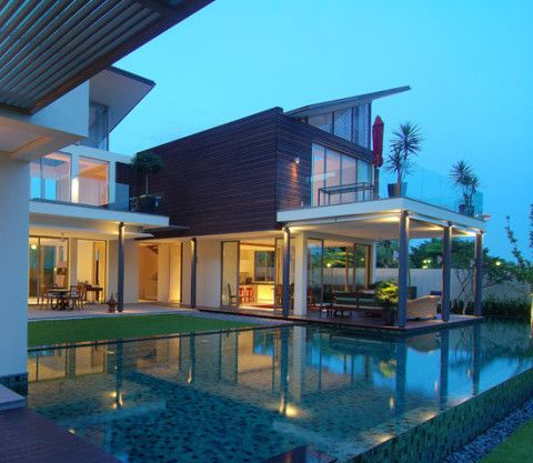 Dream House With Wide Pool Design Part 40