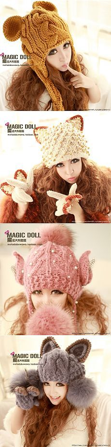 ШАПОЧКИ Magic Doll