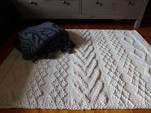 dodatki - dywany-Dywan dziergany MILO