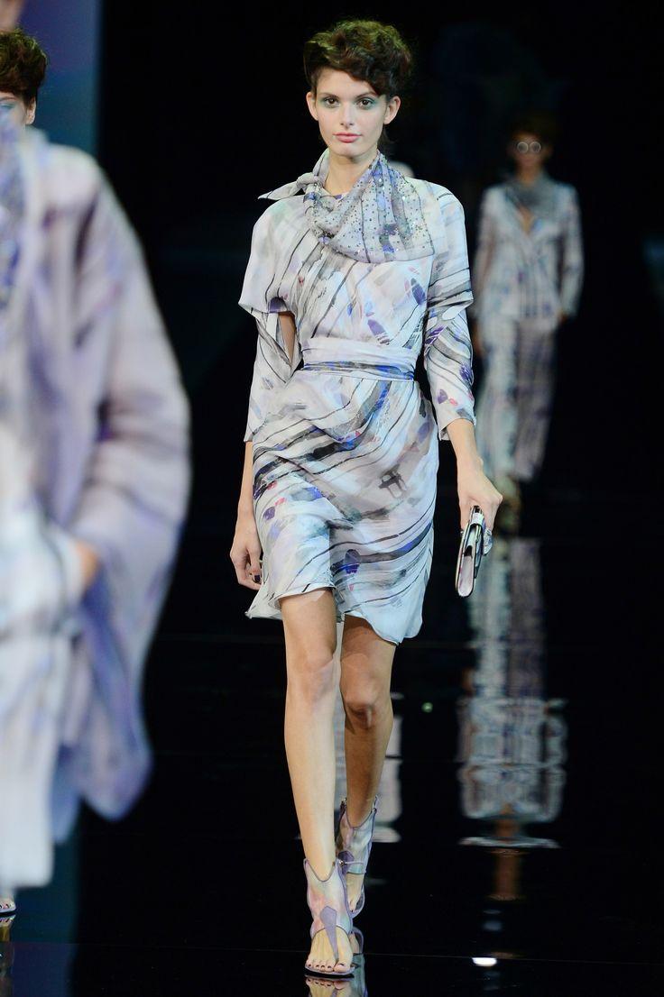 Milan Fashion Week Spring 2014: The Looks We Love  - Giorgio Armani Spring 2014