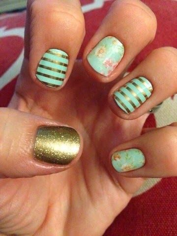 Find cute nails like these and many more at my Jamberry Nails website! http://hannahfallon.jamberrynails.net