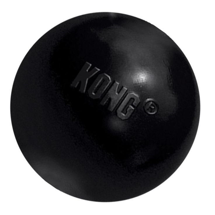 Kong Extreme Ball Dog Toy - Extreme chewing dogs that love to play fetch and catch will love the KONG Extreme Ball. The natural rubber is ultra-durable and bouncy for active play. - https://www.petco.com/shop/en/petcostore/product/kong-extreme-ball-dog-toy