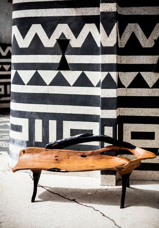 DYNAMIC AFRICA — Unique furniture designs by Senegalese artist... #furniture #globalstyle #HomeDecor