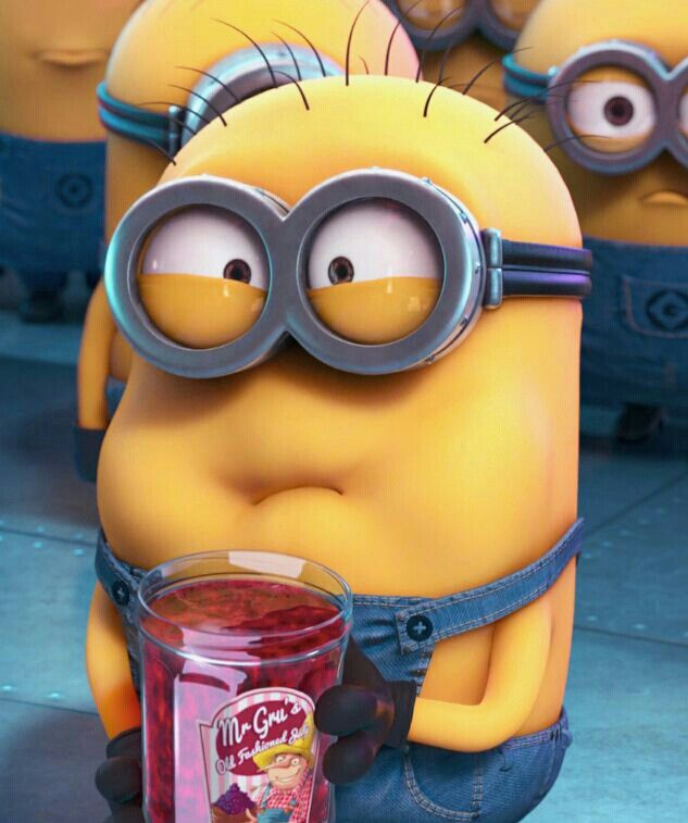 that look on your face, when your best friend asks you to try something..and it's not exactly what you pictured it to be like...#minions