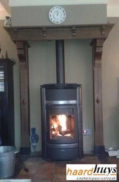 hout cv vrijstaande kachel nordic fire- nora