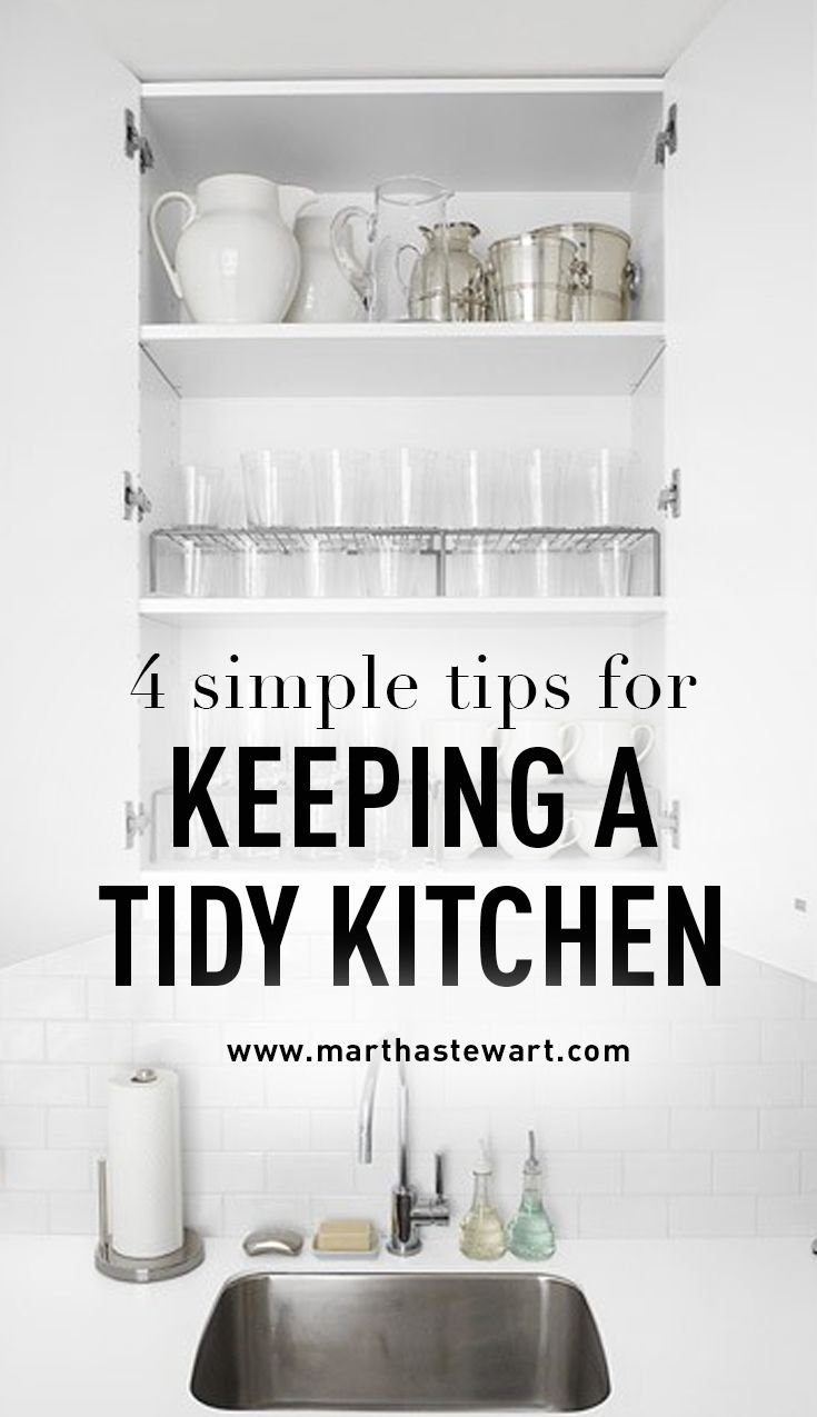 4 Simple Tips For Keeping A Tiny Kitchen Tidy There