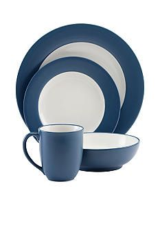 colorwave blue square salad plate - Noritake Colorwave