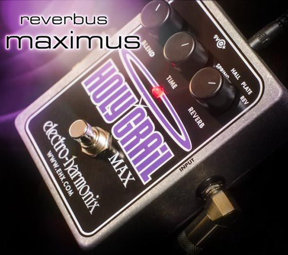 Gearjunkies.com: Electro-Harmonix Holy Grail Max Reverb demonstration video