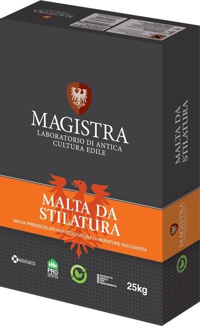 Malte per Bioedilizia - Malta da stilatura