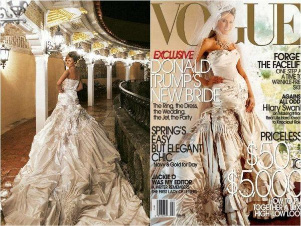 30 Of The Most Unconventional Celebrity Wedding Dresses That We Can T Stop Looking At Celebrity Wedding Dresses Wedding Dresses Celebrity Weddings