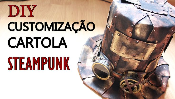 See our new post (Diy/ Oficina Cartola Steampunk pt 02 [ #15 Oficina]) which has been published on (Explore the World of Steampunk) Post Link (http://steampunkvapemod.com/diy-oficina-cartola-steampunk-pt-02-15-oficina/)  Please Like Us and follow us on Facebook @ https://www.facebook.com/steampunkcostume/