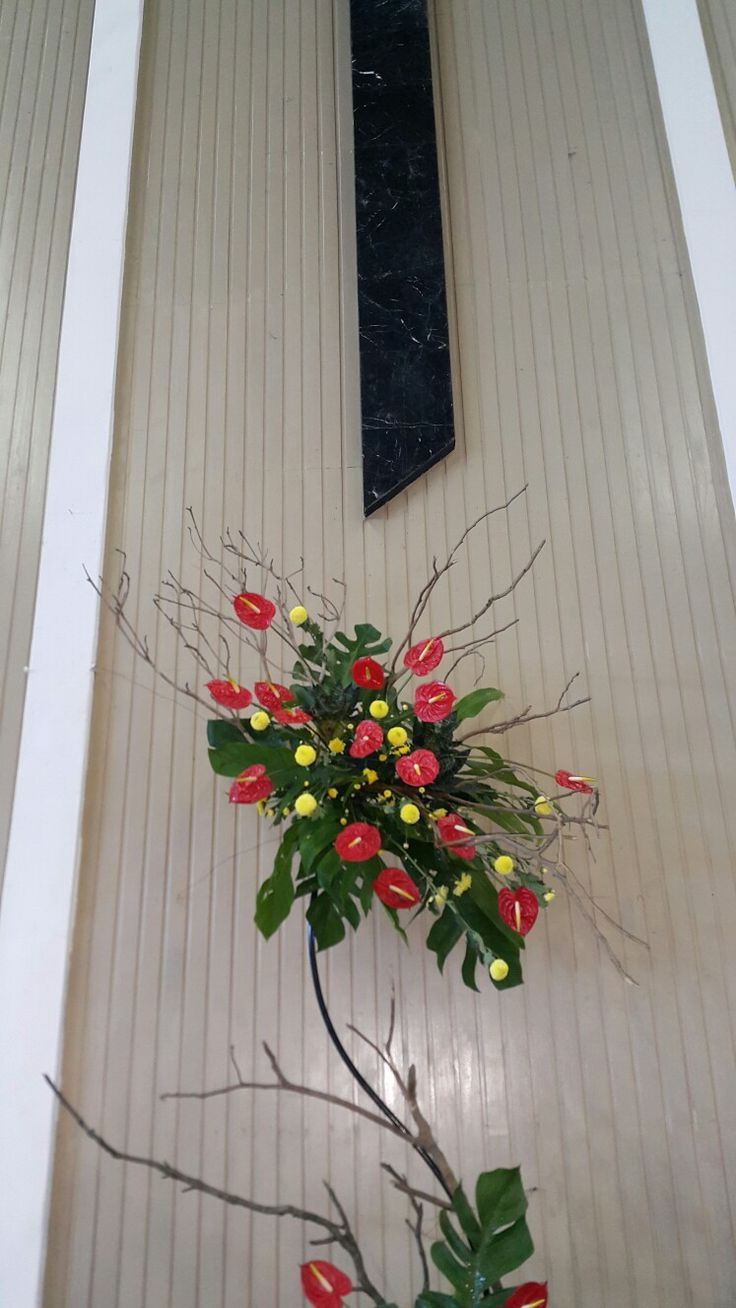 Anthurium in free style