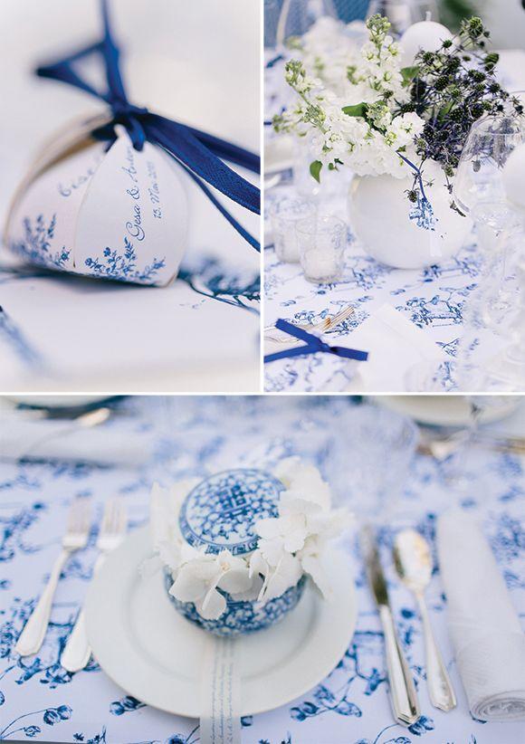Amazing white and blue wedding ideas