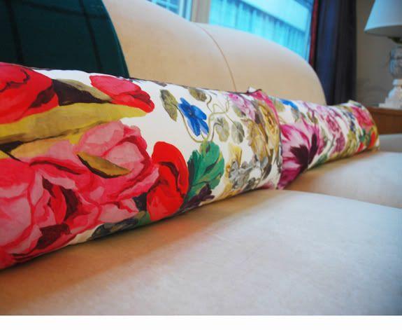 Layering: Floral Pillows - Little Green Notebook