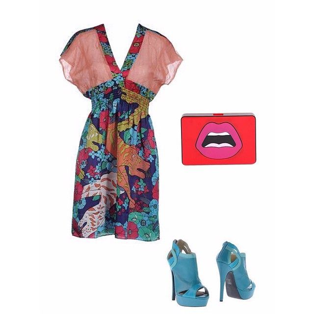 """Ancora colore con #custobarcelona ! Vestito e scarpe #thiagosaintcliff su #yoox e clutch @yazbukey su @luisaviaroma #fashion #fashionable #fashionblog #fashiongirl #fashiongram #fashionista #fashionbeauty #fashiondaily #fashionblogger #fashiondiaries #instago #instacool #instastyle #instabeauty #instafollow #instafashion #beauty #bloggare #bloggergirl #bloggerlife #bloggerstyle #bloggeritalia #bloggerfashion #bloggerswanted #outfit #look #polyvore"" Photo taken by @allshereallywants"