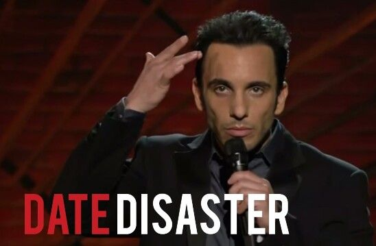"""""""I started to sweat . . . from the inside.""""  Sebastian Maniscalco"""