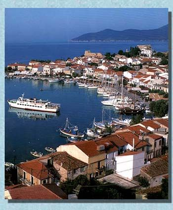 Pythagorion a tourist resort and one of the most beautifull villages in Samos, Greece