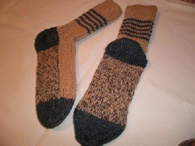 Obnovitelné ponožky   PLETENÍ – NÁVODY