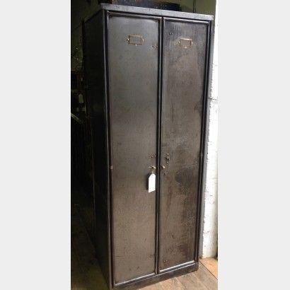 1930s two door steel cupboard | Metroretro