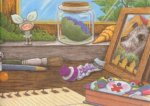 說自己的故事 - 幾米  Jimmy Liao illustrations