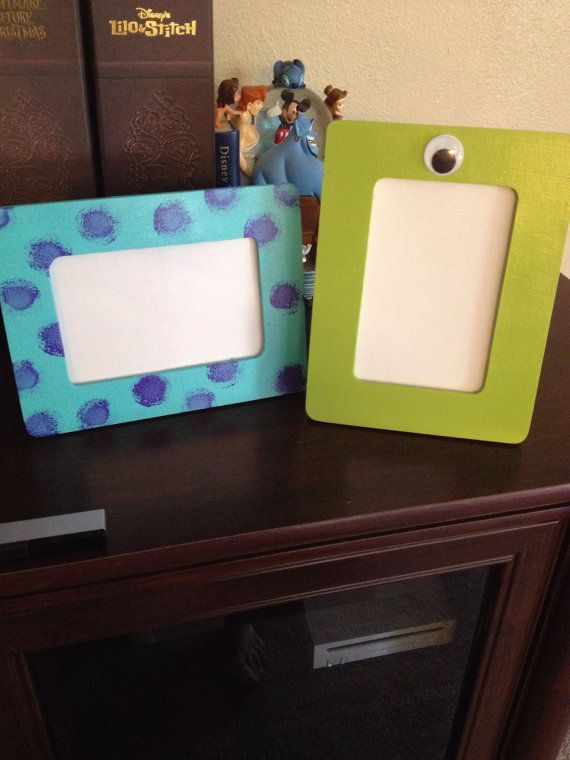 Hey, I found this really awesome Etsy listing at https://www.etsy.com/listing/193467753/monsters-inc-picture-frame-set