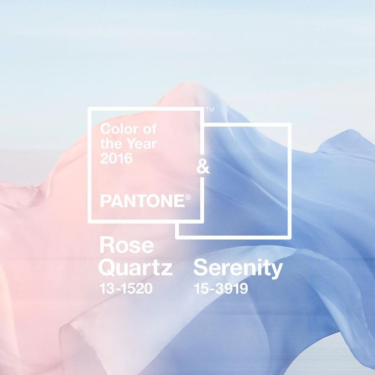 """""""Pantone Reveals COLORS of the Year for 2016!!!! #pantone #newyear #love"""""""