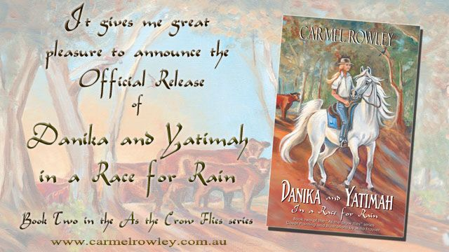 Official release of 'Danika and Yatimah in a race for rain'