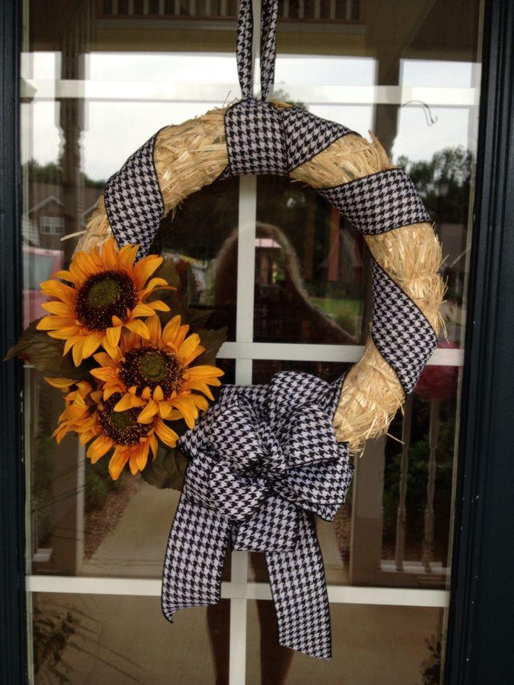 Simple Straw Wreath