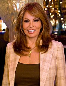 Raquel Welch, born September 5, 1940, making her 72 years old!  She's beautiful!