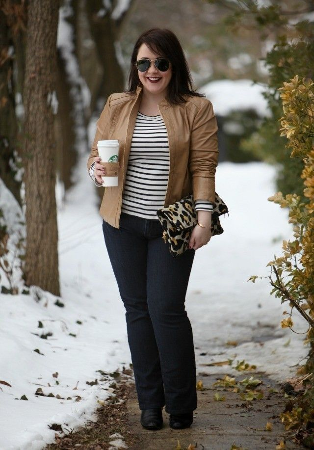 38 Look Sexy Plus Size Women with Outfit Ideas this Winter