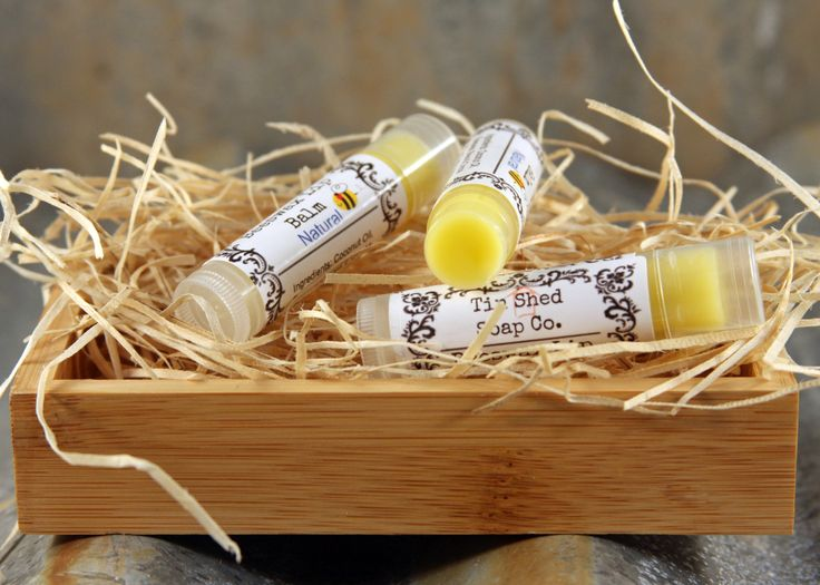 Lip Balm with Bees Wax and Jojoba Oil - Strawberry, Peppermint or Natural by TinShedSoapCo on Etsy https://www.etsy.com/listing/223472998/lip-balm-with-bees-wax-and-jojoba-oil