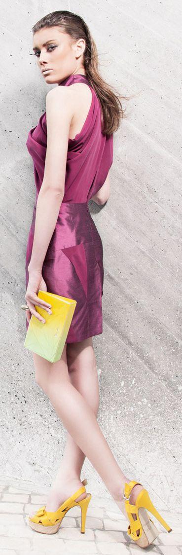 violet dress by Lianga